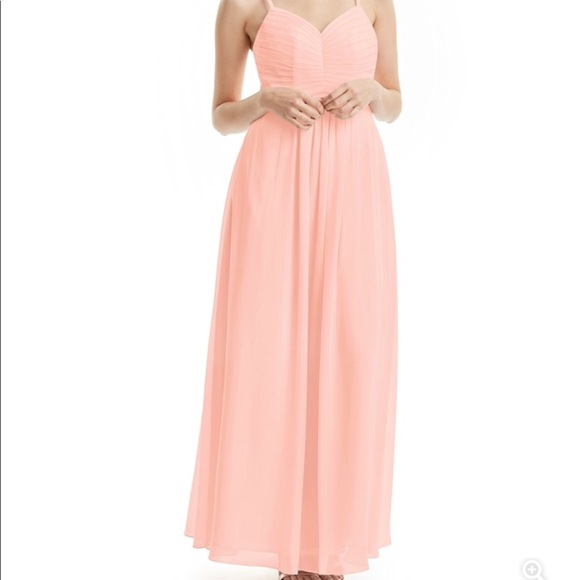 Azazie Dresses & Skirts - Azazie Paola Bridesmaid Dress - Coral - A6